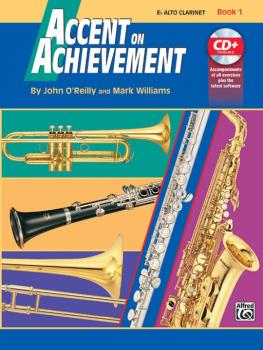 Accent on Achievement, Book 1 Alto Clarinet (AL-00-17085)