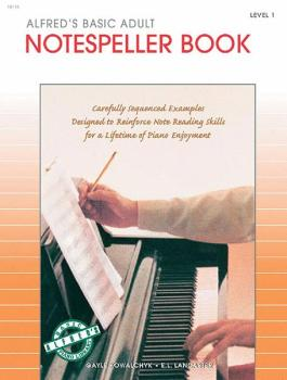Alfred's Basic Adult Piano Course: Notespeller Book 1 (AL-00-18116)