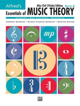 Alfred's Essentials of Music Theory: Book 2 Alto Clef (Viola) Edition (AL-00-18581)