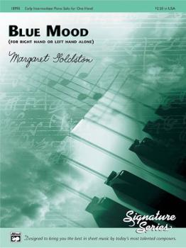 Blue Mood (for right hand or left hand alone) (AL-00-18990)