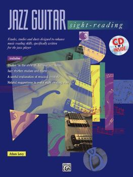 Jazz Guitar Sight-Reading: Etudes, Studies, and Duets Designed to Enha (AL-00-17849)