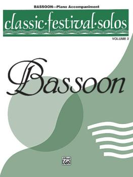 Classic Festival Solos (Bassoon), Volume 2 Piano Acc. (AL-00-EL03880)