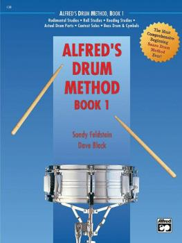 Alfred's Drum Method, Book 1: The Most Comprehensive Beginning Snare D (AL-00-21456)