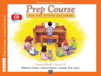 Alfred's Basic Piano Prep Course: Lesson Book A (For the Young Beginne (AL-00-21227)