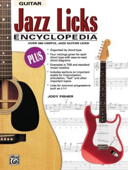 Jazz Licks Encyclopedia: Over 280 Useful Jazz Guitar Licks (AL-00-19419)