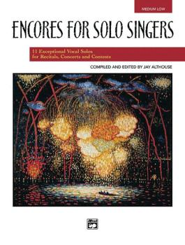 Encores for Solo Singers (AL-00-21833)