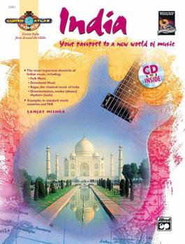 Guitar Atlas: India: Your passport to a new world of music (AL-00-22851)