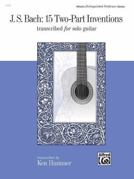 J. S. Bach: 15 Two-Part Inventions (Transcribed for Solo Guitar) (AL-00-21978)