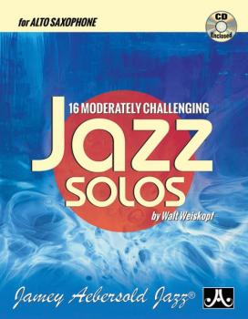 16 Moderately Challenging Jazz Solos (AL-24-MCJS-AS)