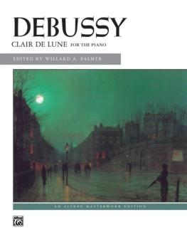Clair de lune (from <I>Suite Bergamasque</I>) (AL-00-2160)