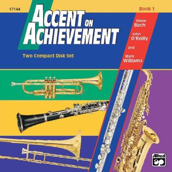 Accent on Achievement, Book 1 2-CD Set (AL-00-17144)
