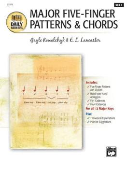 Daily Warm-Ups, Set 1: Major Five-Finger Patterns & Chords (AL-00-22373)