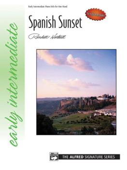 Spanish Sunset (for right hand alone) (AL-00-22466)