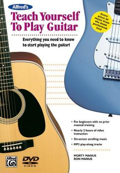 Alfred's Teach Yourself to Play Guitar: Everything You Need to Know to (AL-00-22625)