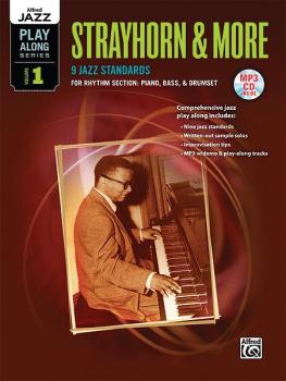 Alfred Jazz Play-Along Series, Vol. 1: Strayhorn & More (9 Jazz Standa (AL-00-38722)