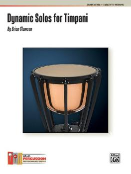 Dynamic Solos for Timpani (AL-00-39038)