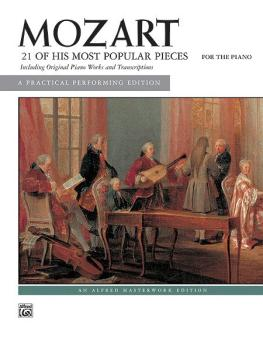 21 of His Most Popular Pieces (AL-00-391)