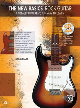 The New Basics: Rock Guitar: A Totally Different, Fun Way to Learn (AL-00-39253)