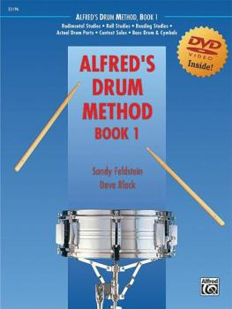 Alfred's Drum Method, Book 1: The Most Comprehensive Beginning Snare D (AL-00-23196)