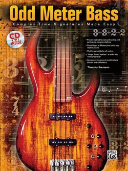 Odd Meter Bass: Complex Time Signatures Made Easy (AL-00-25578)