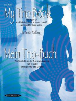 My Trio Book (Mein Trio-Buch) (Suzuki Violin Volumes 1-2 arranged for  (AL-00-19720X)