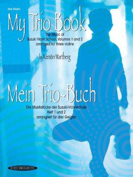 My Trio Book (Mein Trio-Buch) (Suzuki Violin Volumes 1-2 arranged for  (AL-00-19800X)