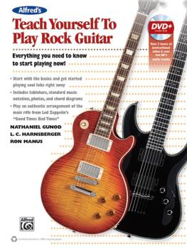 Alfred's Teach Yourself to Play Rock Guitar: Everything You Need to Kn (AL-00-42010)