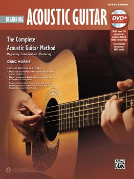 The Complete Acoustic Guitar Method: Beginning Acoustic Guitar (2nd Ed (AL-00-43635)