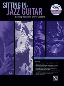 Sitting In: Jazz Guitar: Backing Tracks and Improv Lessons (AL-00-44436)