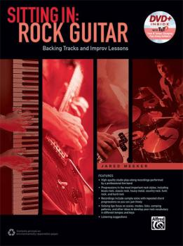 Sitting In: Rock Guitar: Backing Tracks and Improv Lessons (AL-00-44439)