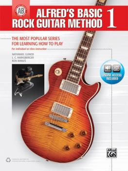 Alfred's Basic Rock Guitar Method 1: The Most Popular Series for Learn (AL-00-45052)