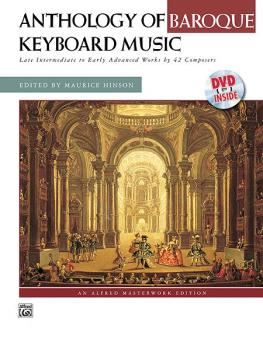 Anthology of Baroque Keyboard Music with Performance Practices in Baro (AL-00-21449)