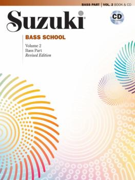Suzuki Bass School Bass Part & CD, Volume 2 (Revised) (AL-00-40730)