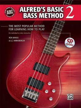 Alfred's Basic Bass Method 2: The Most Popular Method for Learning How (AL-00-30547)