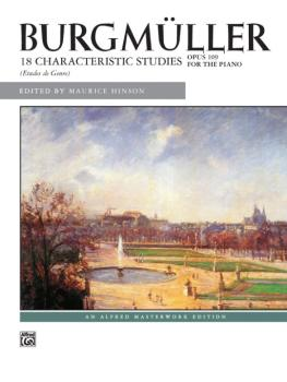 18 Characteristic Studies, Opus 109 (AL-00-4829)