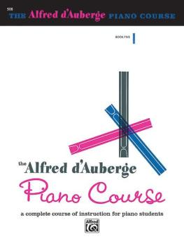 Alfred d'Auberge Piano Course: Lesson Book 5: A Complete Course of Ins (AL-00-508)