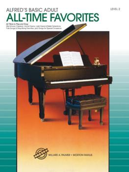 Alfred's Basic Adult Piano Course: All-Time Favorites Book 2 (AL-00-3121)