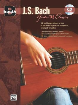 Basix® Guitar TAB Classics: J. S. Bach (AL-00-22627)