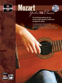 Basix® Guitar TAB Classics: Mozart (AL-00-22633)