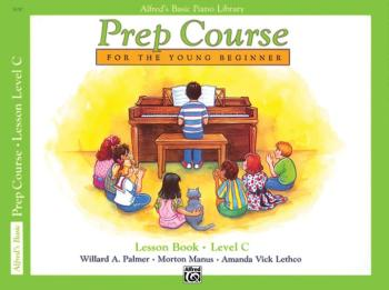 Alfred's Basic Piano Prep Course: Lesson Book C (For the Young Beginne (AL-00-3130)