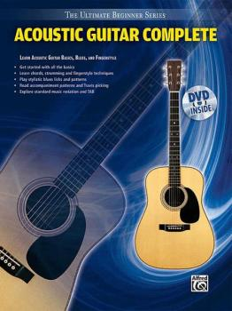 Ultimate Beginner Series: Acoustic Guitar Complete (AL-00-31450)