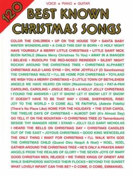 120 Best Known Christmas Songs (AL-00-VF1854A)