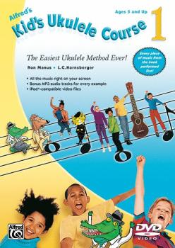 Alfred's Kid's Ukulele Course 1: The Easiest Ukulele Method Ever! (AL-00-35281)