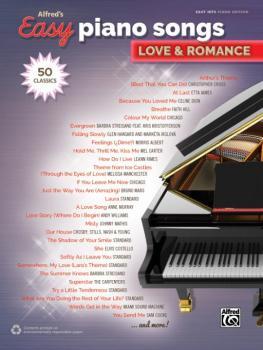 Alfred's Easy Piano Songs: Love & Romance (50 Classics) (AL-00-45244)