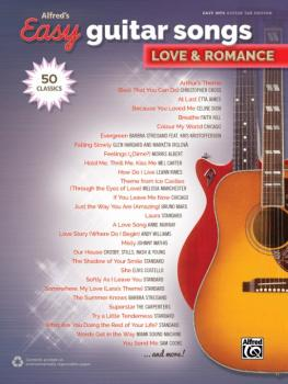 Alfred's Easy Guitar Songs: Love & Romance (50 Classics) (AL-00-45245)