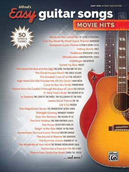 Alfred's Easy Guitar Songs: Movie Hits (50 Songs and Themes) (AL-00-45155)