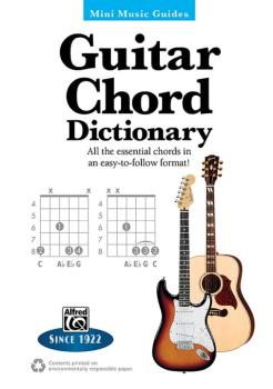 Mini Music Guides: Guitar Chord Dictionary: All the Essential Chords i (AL-00-33501)