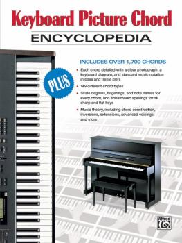 Keyboard Picture Chord Encyclopedia (AL-00-34345)