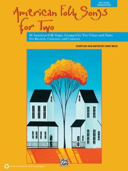 American Folk Songs for Two: 10 American Folk Songs Arranged for Two V (AL-00-38106)