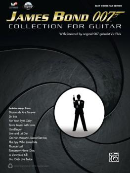 James Bond 007: Collection for Guitar (AL-00-40655)